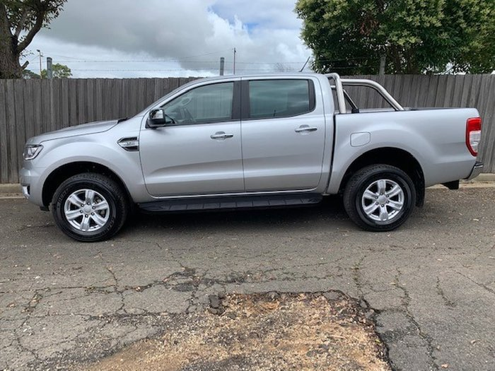 2018 Ford Ranger XLT PX MkIII MY19 4X4 Dual Range Silver