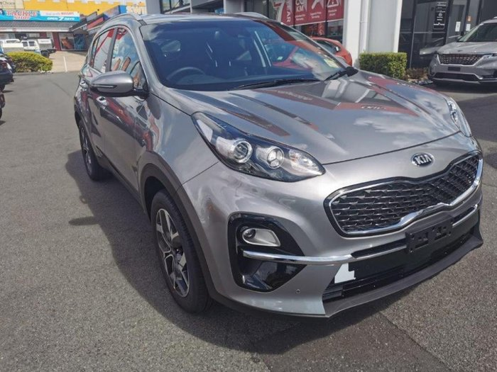 2020 Kia Sportage SX+ QL MY21 Steel Grey
