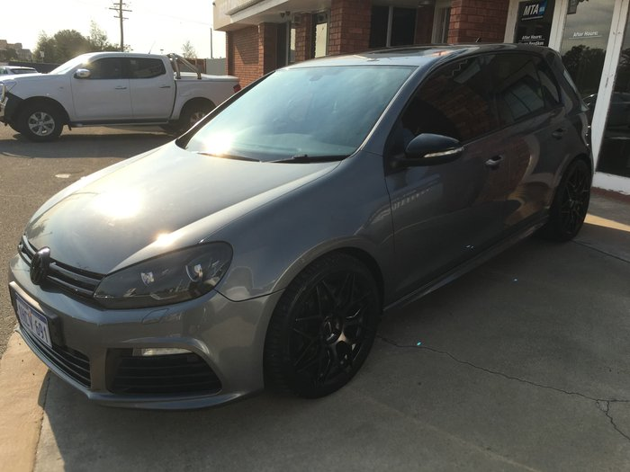 2010 Volkswagen Golf R VI MY10 Four Wheel Drive Carbon Steel