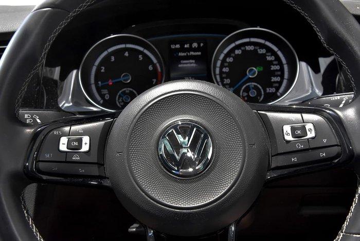 2017 Volkswagen Golf R Grid Edition 7.5 MY18 Four Wheel Drive Blue