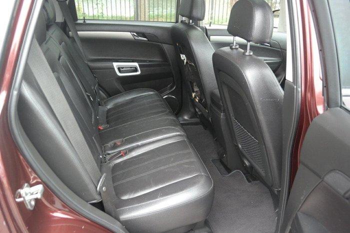 2014 Holden Captiva 5 LTZ CG MY14 Maroon