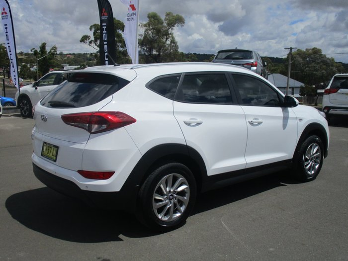 2017 Hyundai Tucson Active TL2 MY18 Pure White