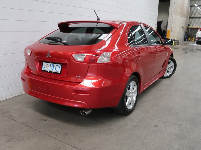2009 Mitsubishi Lancer VR CJ MY09 Red
