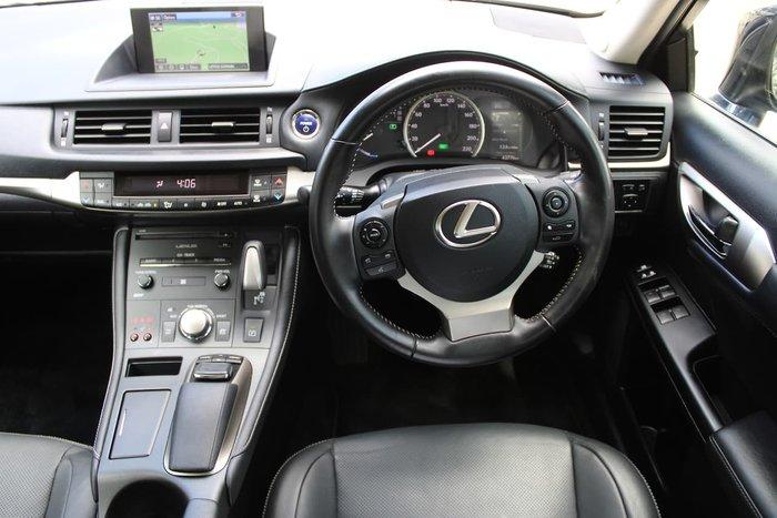 2017 Lexus CT CT200h Luxury ZWA10R Blue