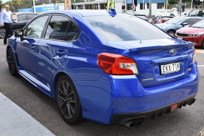 2017 Subaru WRX Premium V1 MY17 Four Wheel Drive Blue