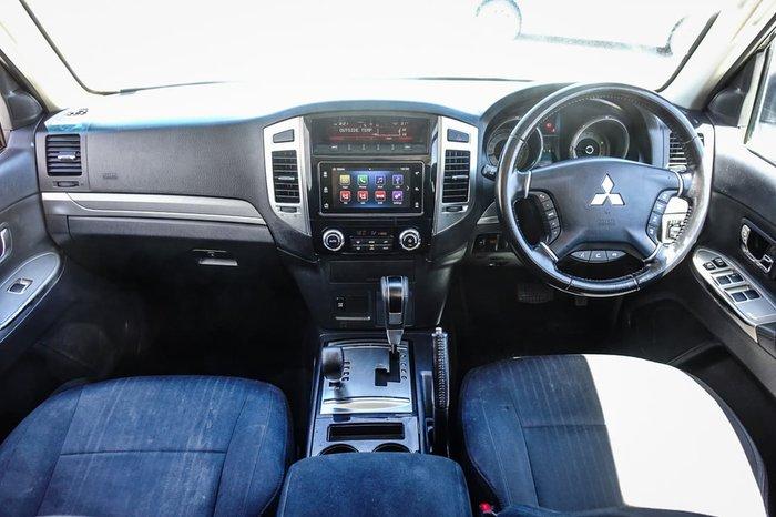 2018 Mitsubishi Pajero GLX NX MY18 4X4 Dual Range White