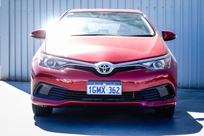 2018 Toyota Corolla Ascent ZRE182R Red