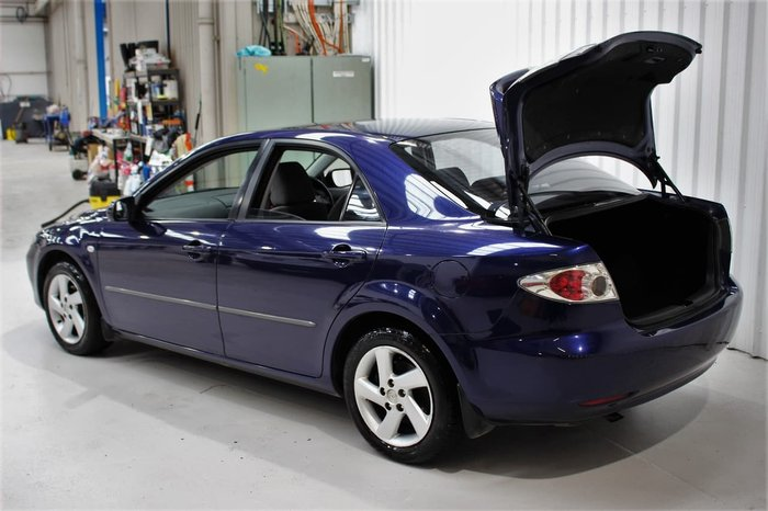 2003 Mazda 6 Classic GG Series 1 Blue