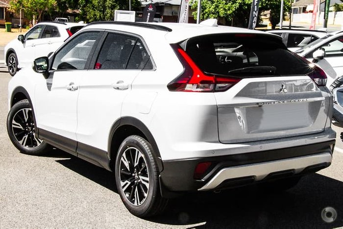 2020 Mitsubishi Eclipse Cross LS YB MY21 White Diamond