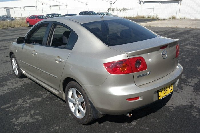 2005 Mazda 3 Maxx Sport BK Series 1 Silver