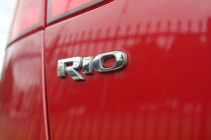2013 Kia Rio S UB MY13 Red