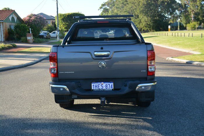 2014 Holden Colorado LTZ RG MY14 4X4 Dual Range Royal Grey