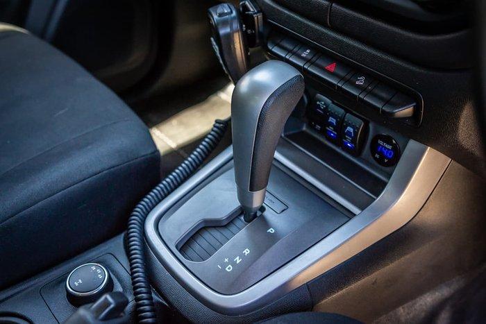 2016 Holden Colorado LS RG MY17 4X4 Dual Range Black