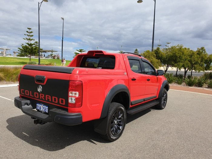 2016 Holden Colorado Z71 RG MY17 4X4 Dual Range Red