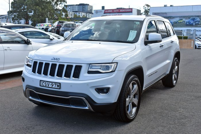 2014 Jeep Grand Cherokee Limited WK MY14 4X4 Dual Range Bright White