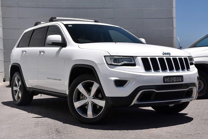 2015 Jeep Grand Cherokee Limited WK MY15 4X4 Dual Range White