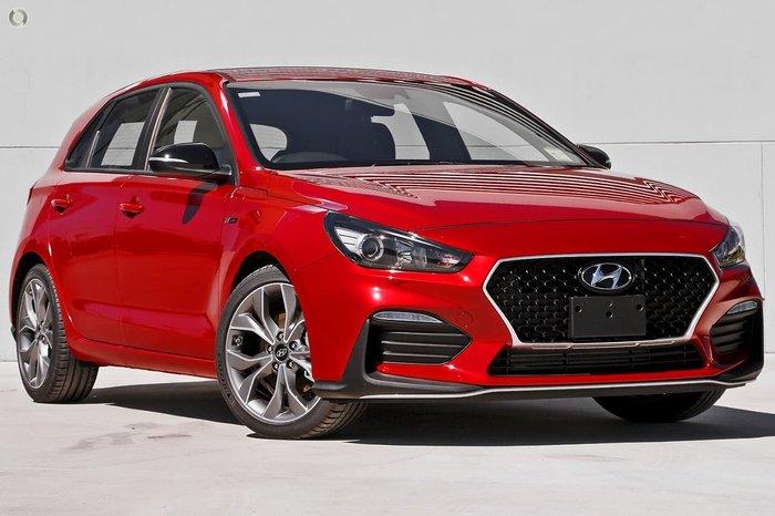 2020 Hyundai i30 N Line PD.V4 MY21 Red
