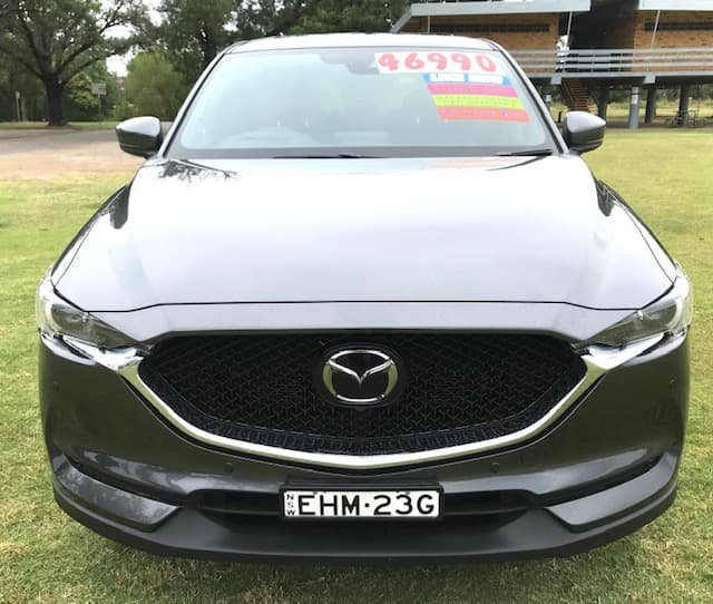 2020 Mazda CX-5 Akera KF Series 4X4 On Demand Polymetal Grey