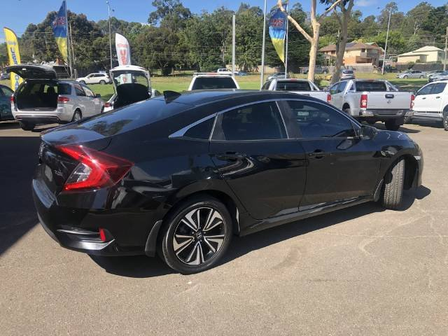 2017 Honda Civic VTi-L 10th Gen MY17 BLACK