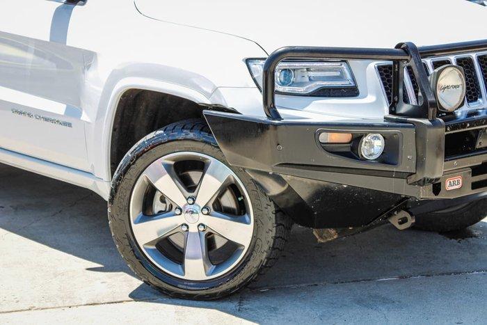 2014 Jeep Grand Cherokee Overland WK MY15 4X4 Dual Range White