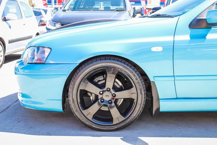 2005 Ford Falcon XR8 BA Mk II Blue