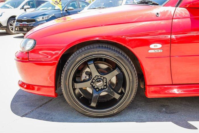 2002 Holden Ute SS VU II Red