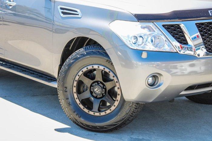 2012 Nissan Patrol Ti-L Y62 4X4 Dual Range Grey