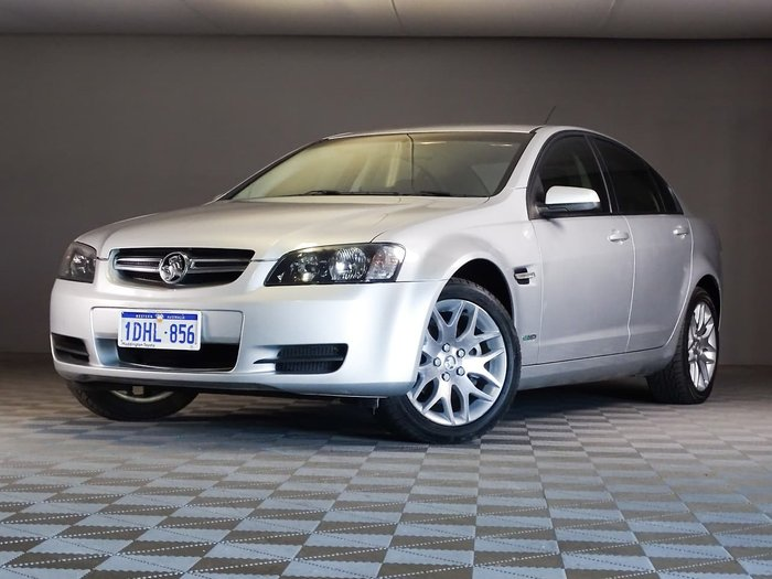 2010 Holden Commodore International VE MY10 Silver