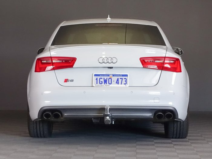 2014 Audi S6 C7 MY14 Four Wheel Drive White