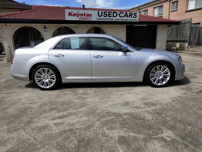 2012 Chrysler 300 Limited LX MY12 Silver