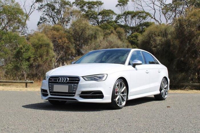2014 Audi S3 8V MY14 Four Wheel Drive White