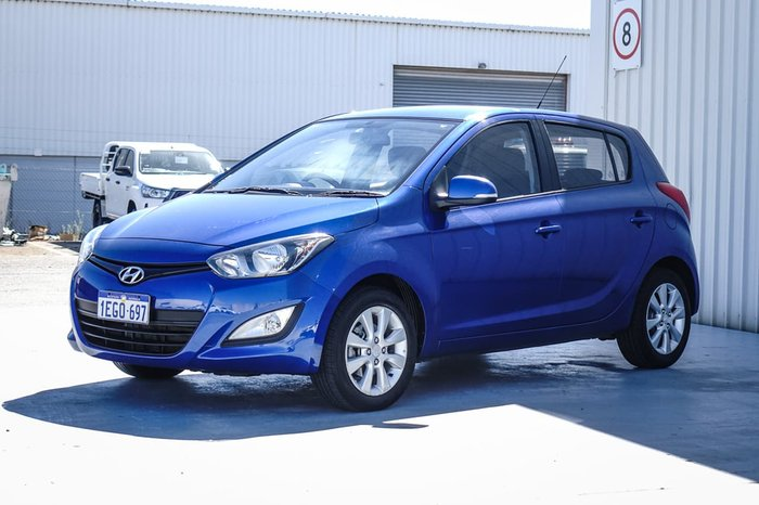 2013 Hyundai i20 Elite PB MY14 Blue