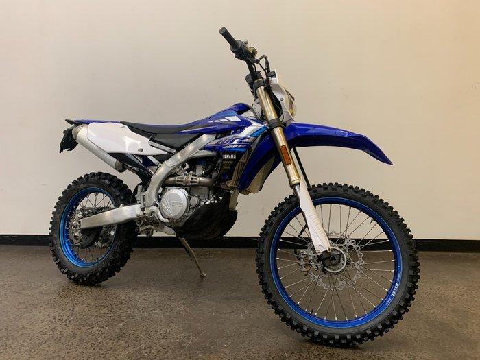 2020 Yamaha WR450F Blue