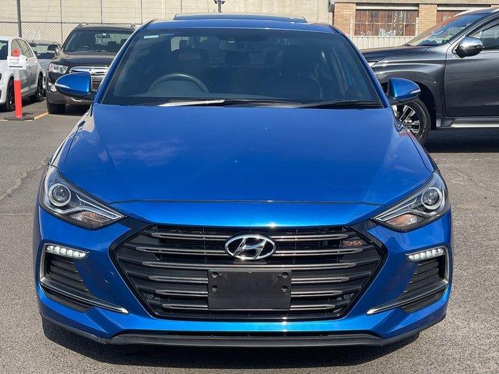 2018 Hyundai Elantra SR Turbo AD MY18 Blue
