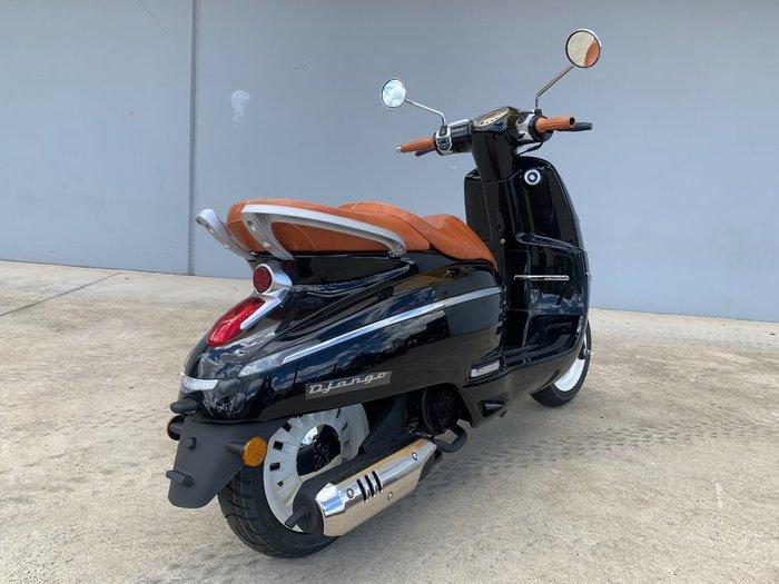 2021 Peugeot DJANGO 150 S Black