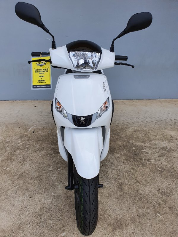 2020 Peugeot TWEET 125 White