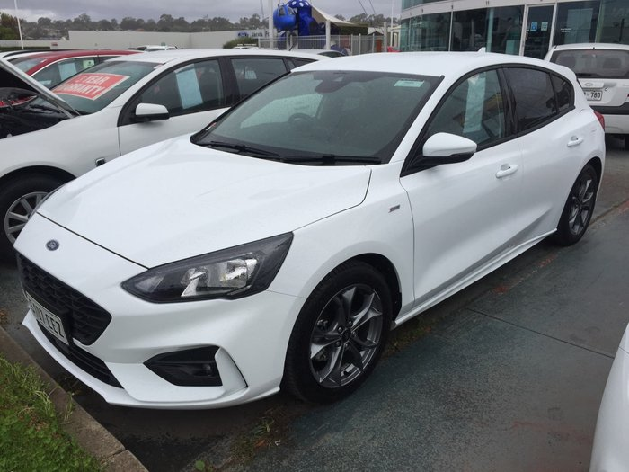 2019 Ford Focus ST-Line SA MY19.75 Frozen White