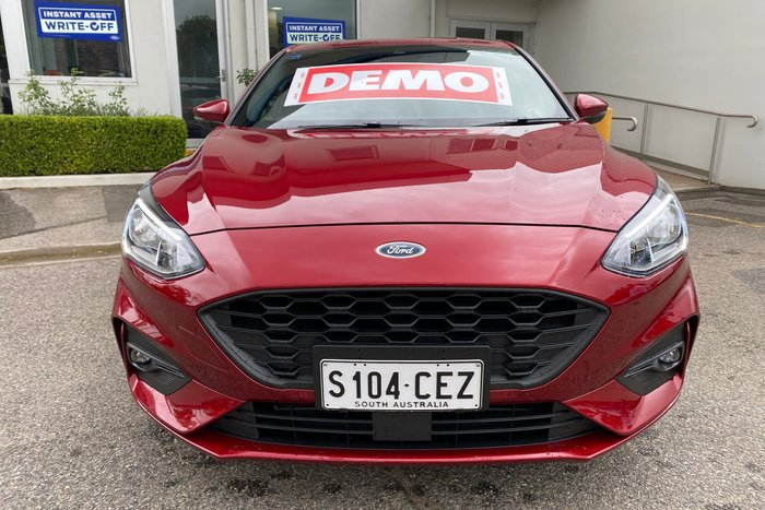 2019 Ford Focus ST-Line SA MY19.75 Ruby Red