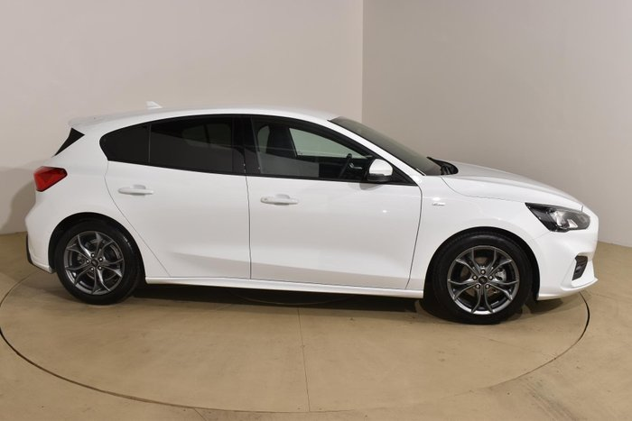 2019 Ford Focus ST-Line SA MY19.75 White