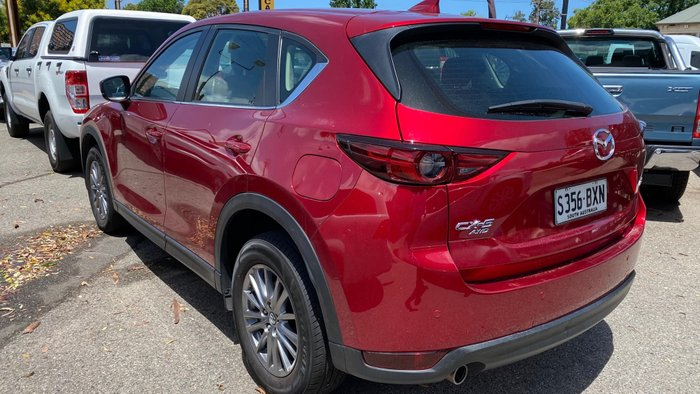 2018 Mazda CX-5 Touring KF Series 4X4 On Demand Soul Red Crystal