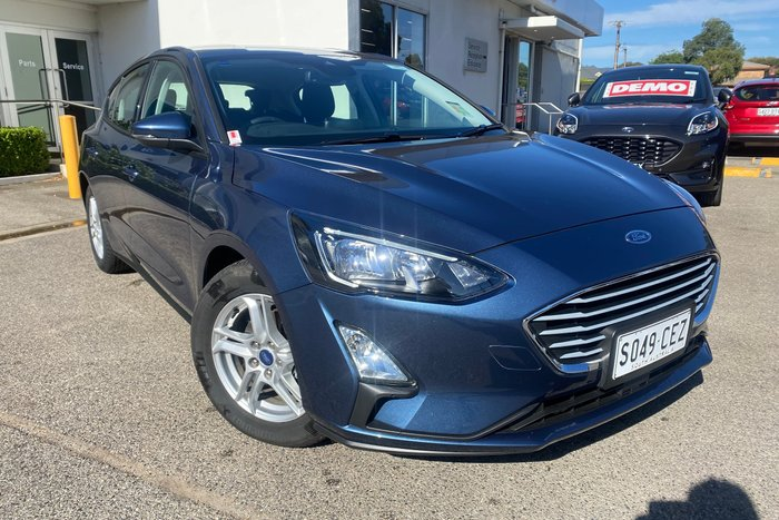 2019 Ford Focus Trend SA MY19.75 Blue Metallic