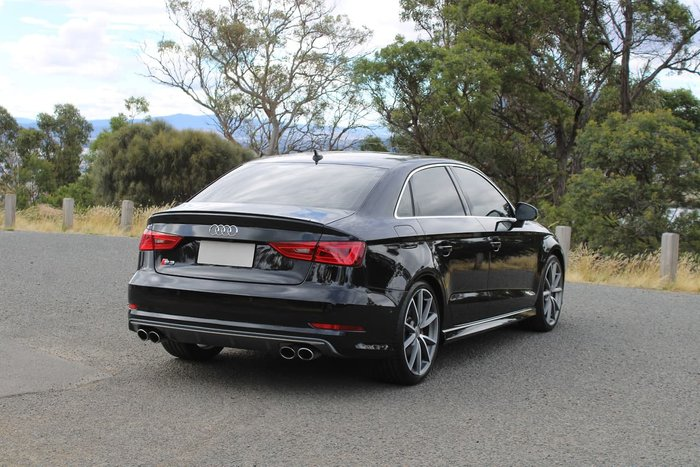 2016 Audi S3 8V MY16 Four Wheel Drive Black