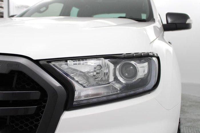 2019 Ford Ranger Wildtrak PX MkIII MY19.75 4X4 Dual Range White