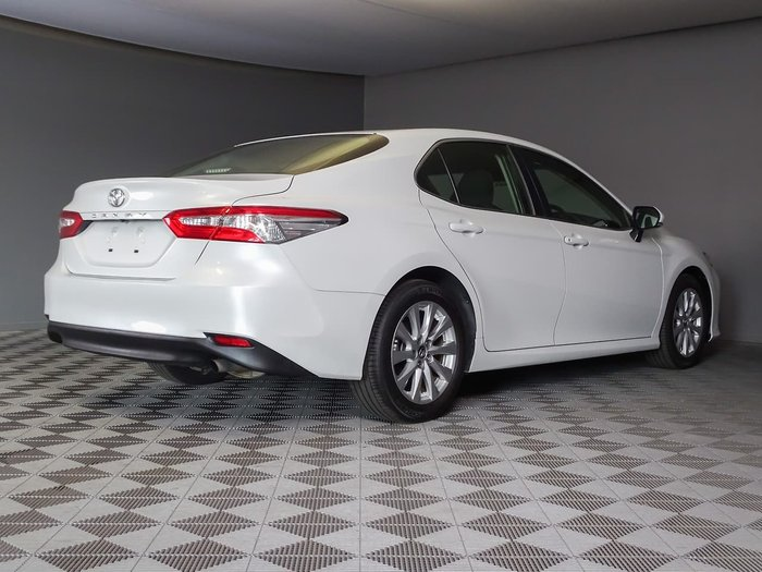 2019 Toyota Camry Ascent ASV70R White