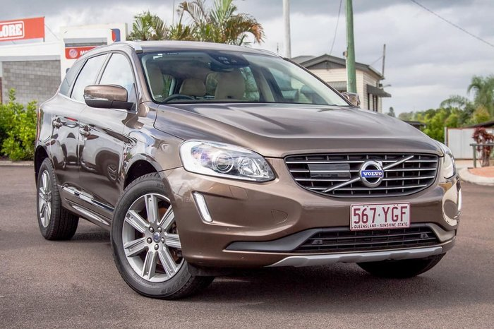 2016 Volvo XC60 D4 Luxury MY16 Four Wheel Drive Bronze