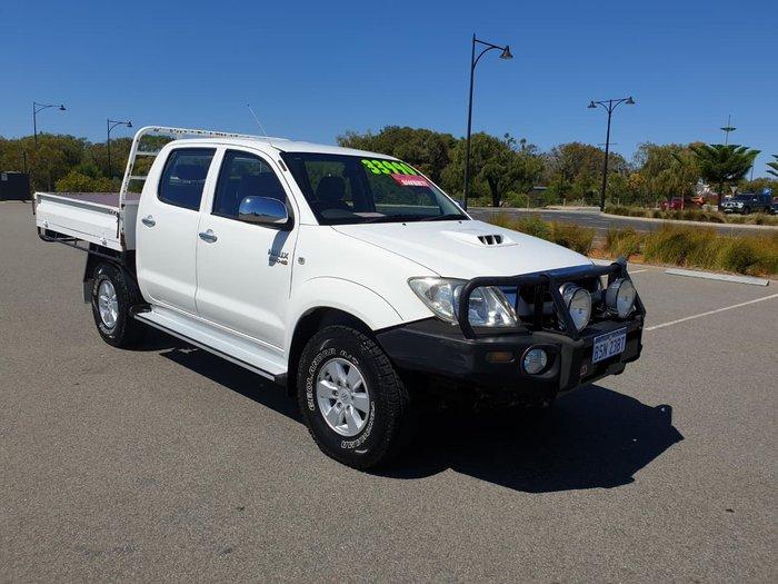 2008 Toyota Hilux SR5 KUN26R MY09 4X4 White