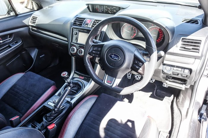 2014 Subaru WRX STI V1 MY15 Four Wheel Drive Grey