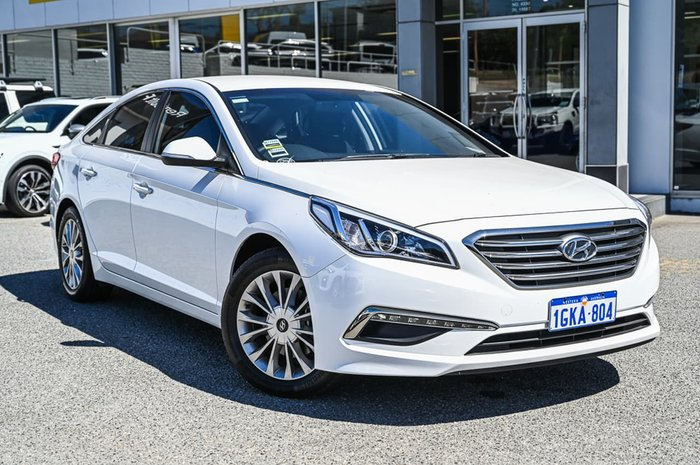 2017 Hyundai Sonata Active LF4 MY18 White