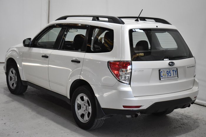 2011 Subaru Forester X S3 MY11 Four Wheel Drive White