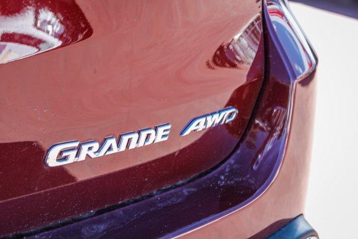 2019 Toyota Kluger Grande GSU55R Four Wheel Drive Red